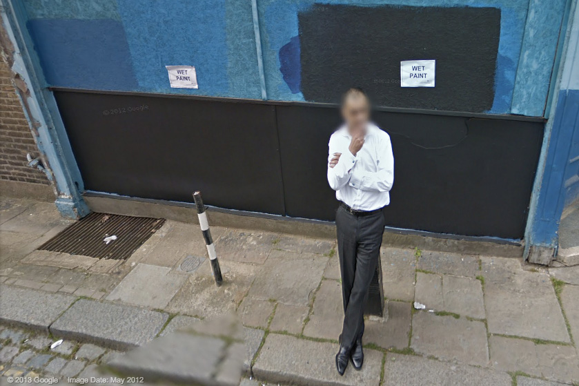 Google Street View of Gospel Oak